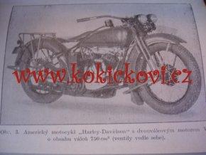 Motocykl - Automobil - Letecké motory - 3 brožury v 1 vazbě