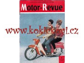 Tschechoslowakische Motor - Revue - 7/1963 - NĚMECKY - DEUTSCH - JAWA 250