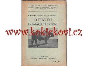 O původu domácích zvířat - Farský 1917