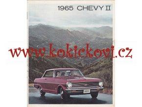 1965 Chevrolet CHEVY II 2 Brochure: NOVA SS,100,Station Wagon,Super Sport