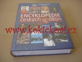 Encyklopedie českých dějin - kniha je nerozbalená, nová