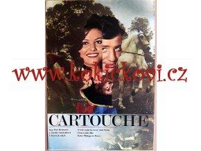 FILMOVÝ PLAKÁT A3 - CARTOUCHE - BELMONDO - CARDINALE