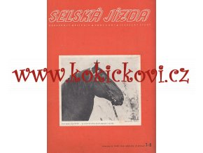 SELSKÁ JÍZDA - CHOV KONÍ - JEZDECKÝ SPORT - 1940 - KOMPL. ROČNÍK - 12 ČÍSEL