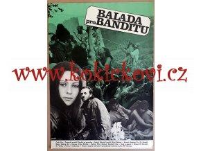 FILMOVÝ PLAKÁT A3 - BALADA PRO BANDITU