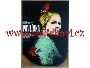 FILMOVÝ PLAKÁT A3 - PAVLÍNKA - BRIGITA HAUSNEROVÁ
