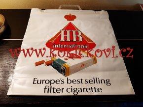 HB International - originální igelitová taška z Tuzexu (NENOŠENÁ)