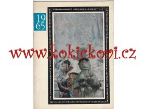 Československý kreslený a loutkový film. Czechoslovak Cartoon and Puppet Films - Le Film ..., 1965