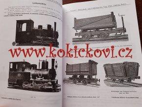 Neveřejné úzkorozchodné dráhy v Čechách, soupisy z let 1909, 1925–1930