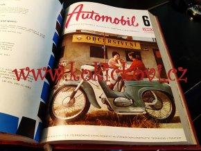 AUTOMOBIL 1962 ROČNÍK 6 JAWA TATRA ČZ 175 250 ŠKODA (VČETNĚ TYPOVÝCH LISTŮ)