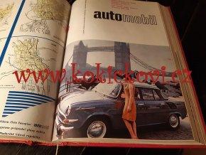 AUTOMOBIL 1965 ROČNÍK 9 JAWA TATRA VELOREX (VČETNĚ TYPOVÝCH LISTŮ)