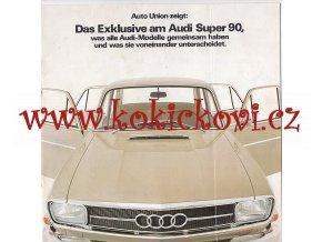 Auto Union - Audi Super 90 - 1967 - prospekt