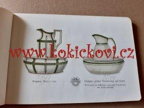 VILLEROY & BOCH WASCHGESCHIRRE 1908 CATALOGUE- KATALOG VILLEROY & BOCH 1908