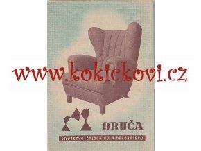 Drupča - družstvo čalouníků a dekoratérů - prospekt