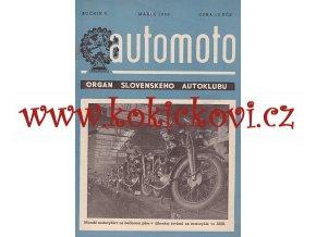 AUTOMOTO MAREC 1950 - ČASOPIS SLOVENSKÉHO AUTOKLUBU - TATRAPLAN