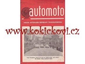 AUTOMOTO SEPTEMBER 1950 - ČASOPIS SLOVENSKÉHO AUTOKLUBU