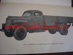 Praga RN - popis a jízdní návod - 1950