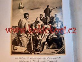 Patnáctiletý kapitán - vánoční 4. vydání 1938 - kvaše - ilustrace Zdeněk Burian Jules Verne