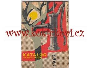 KATALOG VODNÍCH ČERPADEL 1963 - PUMPY - STOJANOVÁ ČERPADLA - DARLING - NAUTILA