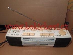 Nordmende Citycorder No. 988 - radio magnetofon - tzv. dvojče - FUNKČNÍ