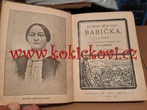 B.Němcová - Babička - Praha 1914 - ilustrace Adolf Kašpar