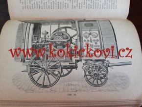 Zařízení, užívání a obsluha elektromotorů pro pohon v průmyslu a na drahách elektrických Prof. V. Leandr 1901