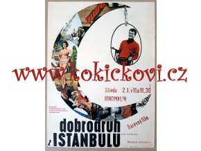 FILMOVÝ PLAKÁT A3 - DOBRODRUH Z ISTANBULU