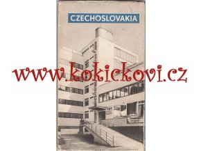 Czechoslovakia Prague Orbis 1947 - photos - maps