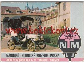 ERICH EINHORN - AUTOMOBILY 1893-1934 - NÁRODNÍ TECHNICKÉ MUZEUM KOLEKCE 15 SNÍMKŮ