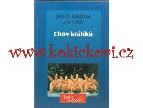 Chov králíků autor: Josef Zadina a kolektiv