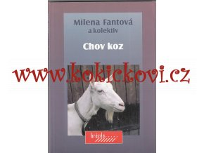 Chov koz - Milena Fantová a kolektiv