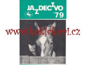 Jazdectvo 1-12 (1979) - časopis pre chov koní a jazdecký šport  - unikátní komplet KRÁSNÝ STAV