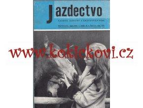 Jazdectvo 1-12 (1972) - časopis pre chov koní a jazdecký šport  - unikátní komplet JEZDECTVÍ