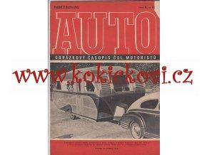 ČASOPIS AUTO 1946 - Č.8 VYDÁNÍ B - TECHNICKÉ