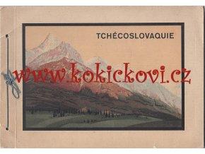 Fotografické publikace propagační publikace La Tchécoslovaquie Tisk - hlubotisk V. Neubert a synové Praha
