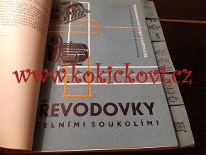 KATALOG PŘEVODOVEK - ČESKOSLOVENSKÉ ZÁVODY NAFTOVÝCH MOTORŮ 1960