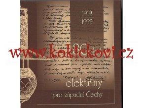 80 let elektřiny pro západní Čechy 1919-1999