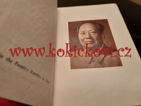 1967 Quotations from chairman Mao Tse-tung - ENGLISH EDITION - LITTLE RED BOOK