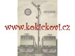 MOTOROVÁ LOKOMOTIVA ŘADY T 478-3 ČKD PROSPEKT - A4 - 4 STRANY