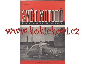 SVĚT MOTORŮ 1948 - číslo 46 - 2.ročník - 100% IA STAV /KRÁSNÁ OBÁLKA/ TATRAPLAN