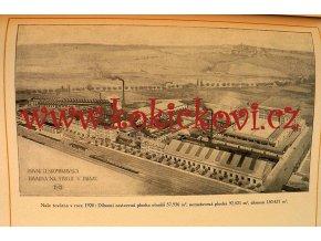Vznik první českomoravské továrny na stroje v Praze Parní stroje 1921