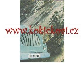 Tatra 138 NT 6 x 6 - 1965 - prospekt - 8 stran A4 IA stav
