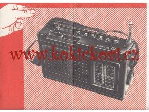 Návod - Domino - Prenosný rozhlasový prijímač 2832 AB slovensky