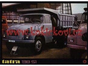Tatra 138 S1 - prospekt - A4