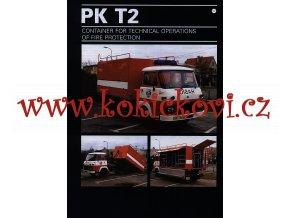 AVIA A31.1.N. - PK T2 - kontejner pro technické operace - prospekt - 1996 - THT Polička