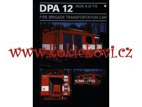 AVIA A31 T-K FIRE BRIGADE TRANSPORTATION CAR - prospekt  1996 - THT Polička