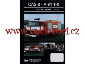 AVIA A31 T-K WATER TENDER - prospekt  1996 - THT Polička
