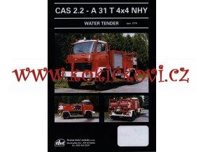 A31 T 4 x 4 NHY  -WATER TENDER- prospekt A4 - 1 list -  1996 - THT Polička