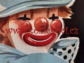 Bum a Bác v nesnázích - 1955 - reklamní plakát - Z. Valentová a K. Bičan