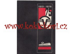 VAGÓNKA STUDÉNKA 1901-1976 - REKLAMNÍ PROSPEKT A4 - 6 STRA - BEZVADNÝ STAV - ČESKY