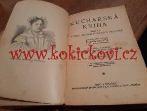 Kuchařská kniha : sbírka vyzkoušených jídelních předpisů, 1921
